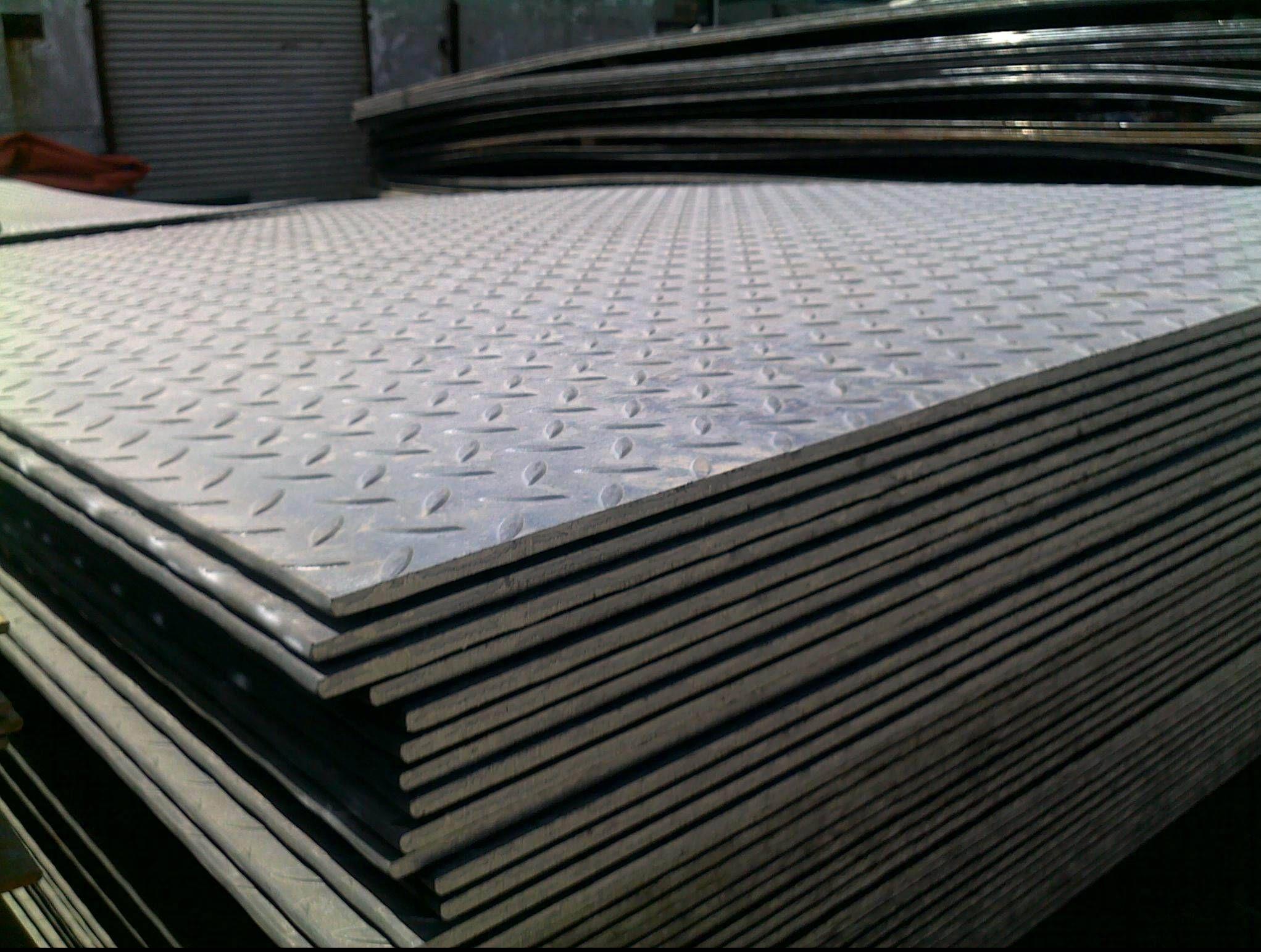 Chequer Plates Vastrap Floor Plates